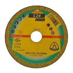 Disc debitat roca KT/EXTRA/C24EX/S/GER/230X3X22,23 Klg