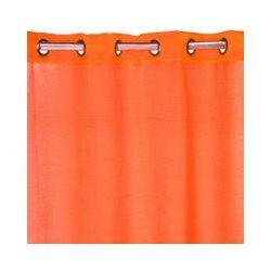 Perdea sudura 2,2x1,4m transparenta/portocalie (set 10 buc) Cp