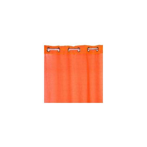 Set 10 buc perdea sudura 2,2x1,4m transparenta/portocalie Cp