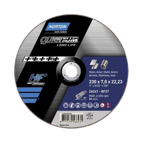 Disc abraziv debitat otel si inox 180x2.5x22.23 Norton