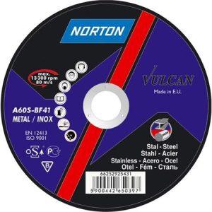 Disc abraziv debitat otel si inox 180x3.0x22.23 Norton