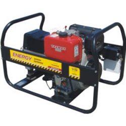 Generator de sudura si curent monofazat, diesel, electrozi supertit, 5,0mm, ENERGY 200 WMD - professional
