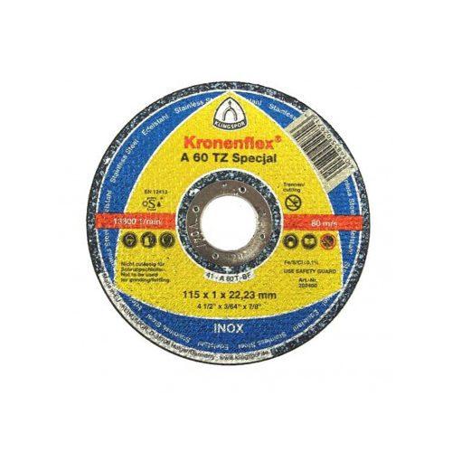 Disc debitat inox KT/SPECIAL/A60TZ/S/GER/125X1X22,23 Klg