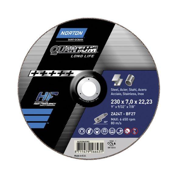 Disc abraziv debitat otel si inox 230x2.5x22.23 Norton