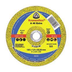 Disc debitat inox KT/EXTRA/A46EX/S/GER/115X1,6X22,23 Klg