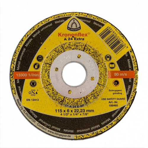 Disc debitat KT/EXTRA/A24EX/S/GER/180X2X22,23 Klg