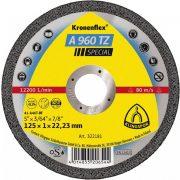 Disc debitat otel si inox KT/SPECIAL/A960TZ/S/GER/125X1X22,23/DOSE Klg