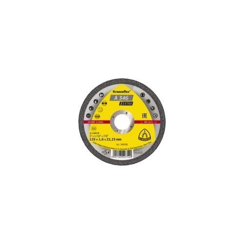 Discuri de debitare Kronenflex® 125x1,6x22,23 pentru Otel inoxidabil si Otel carbon A 346 Extra Klingspor