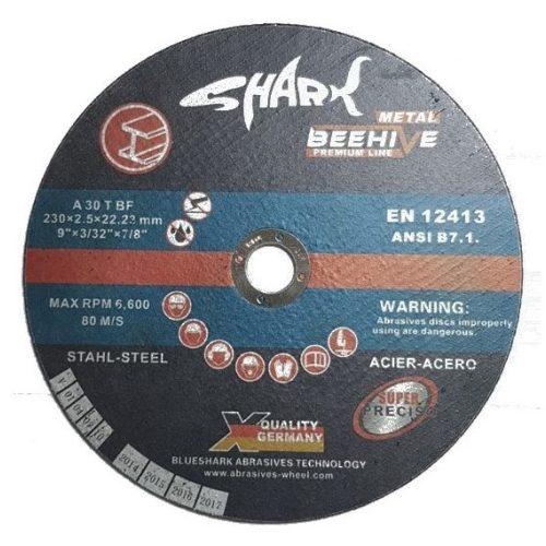 Disc abraziv debitat otel 41BS 230x2,5X22,2 (20buc/cut.) Metal Black