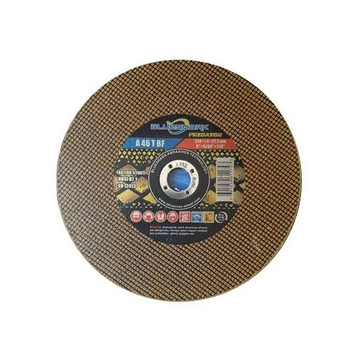 Disc abraziv debitt otel si inox 41BS 180x1,6x22,2 (50buc/cut) Yellow