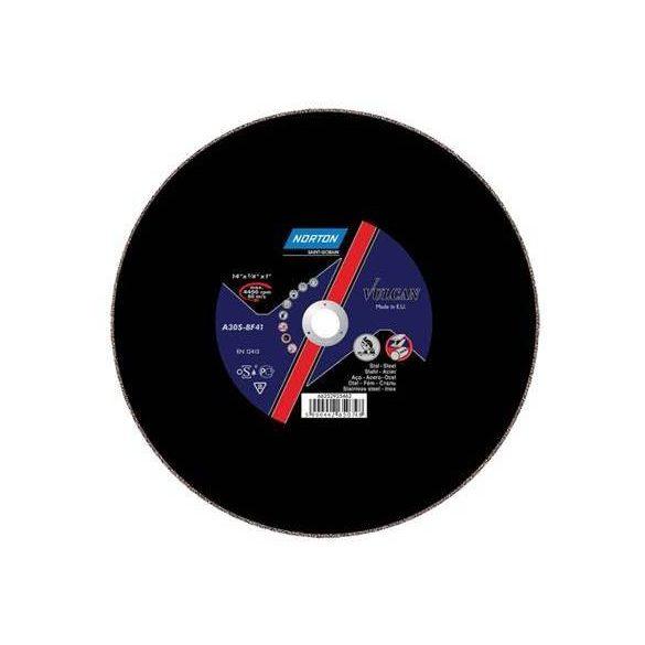 Disc Norton Vulcan 300x2.8x25,4 Metal Inox Norton