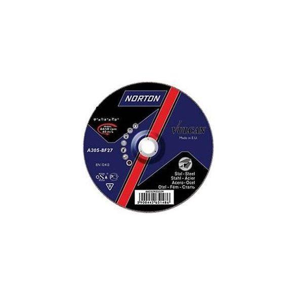 Disc abraziv polizat otel 125x6.4x22.23 Norton