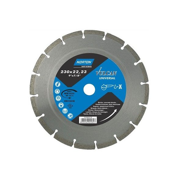 Disc diamantat Universal 180x22.23 Norton