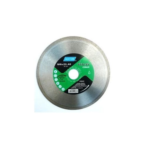 Disc diamantat Ceram 180x22,2 Norton Vulcan