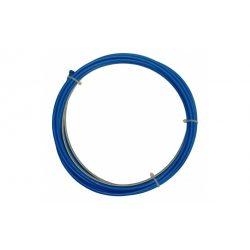 Tub flex otel 0,8-1,0mm albastru - 3 m  iWld