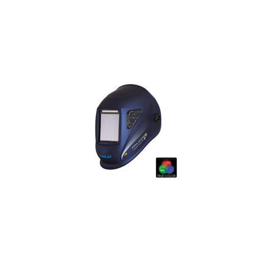 Masca sudura automata 4 senzori True Color Falcon 5.5 LCD Blue-Metal iWeld