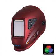 Masca sudura automata 4 senzori True Color Falcon 5.5 LCD Burgundi-Metal iWeld