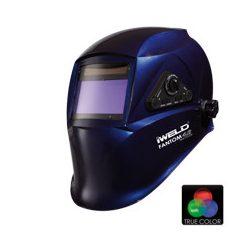Masca sudura automata 4 senzori iWeld FANTOM4 XL albastru metal DIN 5-8 DIN  9-13