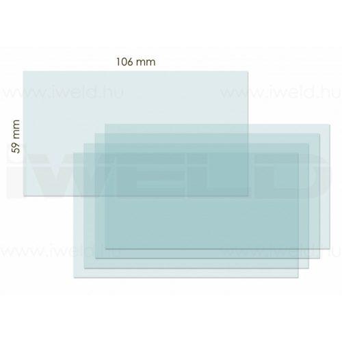 Protectie plastic atermal interior masca Fantom 4 106x59  (10buc/set) iWeld