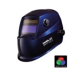 Masca sudura de cap automata alimentare 2 senzori iWeld NORED Eye II ablastru metal DIN 9-13