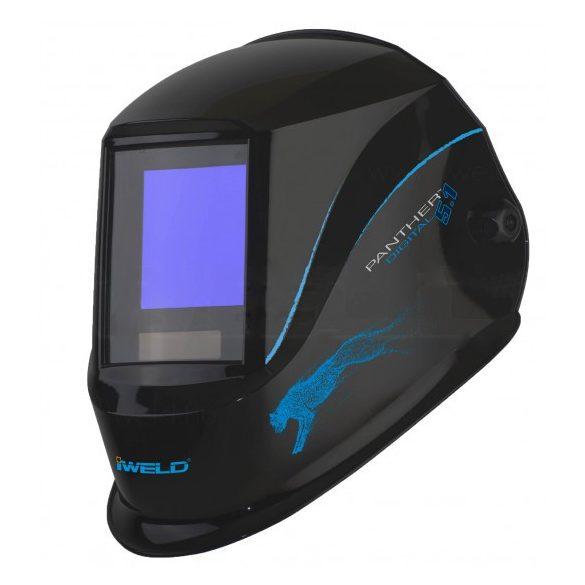 Masca sudura automata 4 senzori True Color cu sistem exhaustare noxe Panther Flow (5.1) iWeld