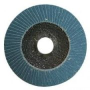 Disc abraziv lamelar frontal inclinat granula zirconiu 125 x 22 grannulatie 80 BlueShark