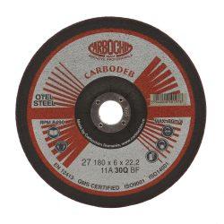 Disc polizat otel 11ABACH27E 180 6.0 22.2 030Q Carbo
