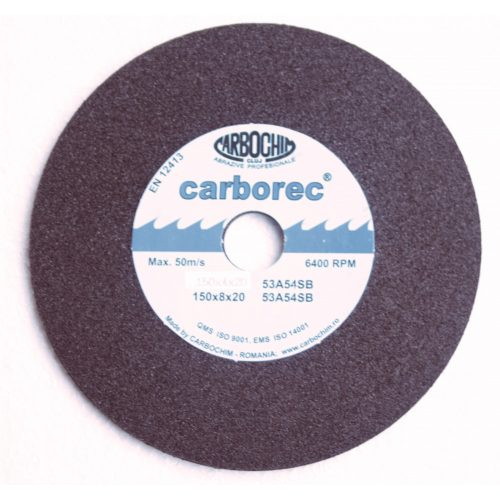Piatra polizor ceramica cu profil C din doua straturi 33ACER.1CTP 150 10.0 20.0 060M Carbo