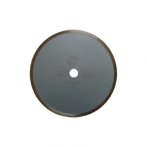 Disc diamantat sinterizat pentru gresie, marmura, materiale similare Ø 230 mm Silverline Ceramic CSL