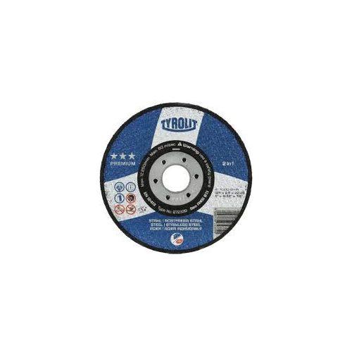 Disc polizat Basic metal inox 178x6x22,2 Tyrolit
