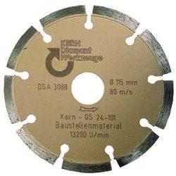 Disc diamantat sinterizat pentru beton, pavele din beton, beton usor armat, materiale similare Ø 125 mm GS Premium Quality