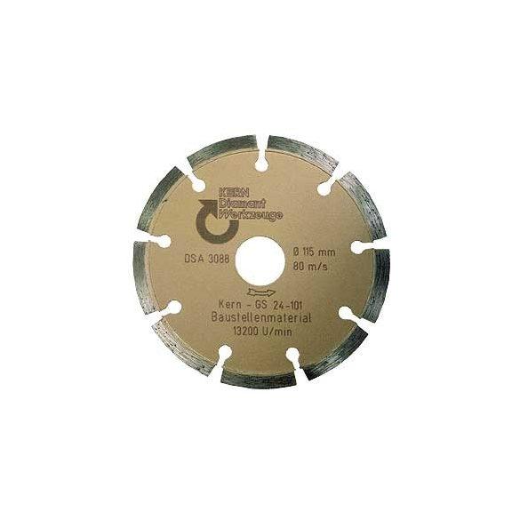 Disc diamantat sinterizat pentru beton, pavele din beton, beton usor armat, materiale similare Ø  230 mm GS Premium Quality