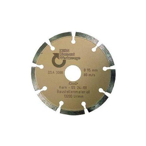 Disc diamantat sinterizat pentru beton, pavele din beton, beton usor armat, materiale similare 50 mm GS Premium Quality Kern