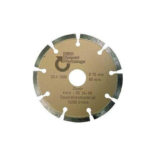 Disc diamantat sinterizat pentru beton, pavele din beton, beton usor armat, materiale similare Ø 115 mm GS Premium Quality