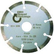 Disc diamantat sinterizat pentru calcar, BCA, caramizi, materiale similare Øt Ø 125 mm GSA Premium Quality