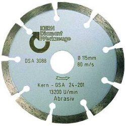 Disc diamantat sinterizat pentru calcar, BCA, caramizi, materiale similare Ø 230 mm GSA Premium Quality
