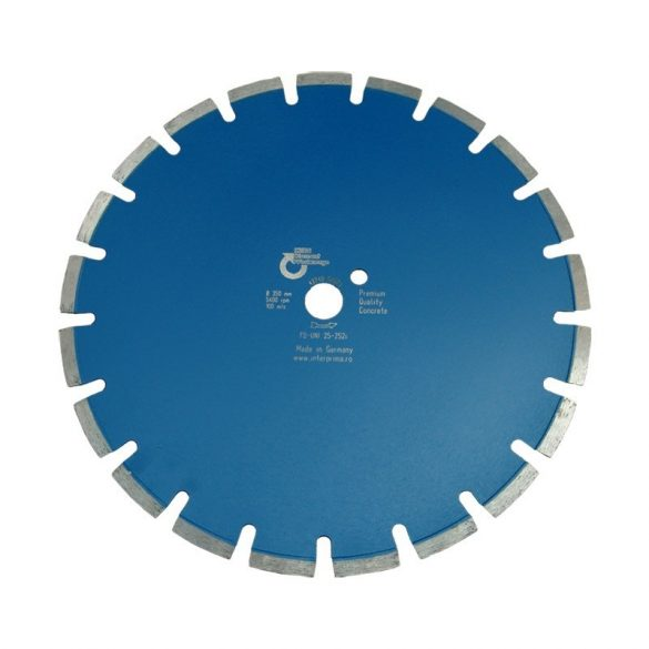 Disc diamantat pentru beton Kern Ø 450 mm FB UNI Premium Quality