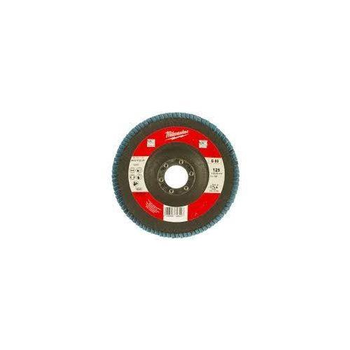Disc lamelar frontal inclinat otel basic 125 gr 80 (10 buc/cut)- Tyrolit