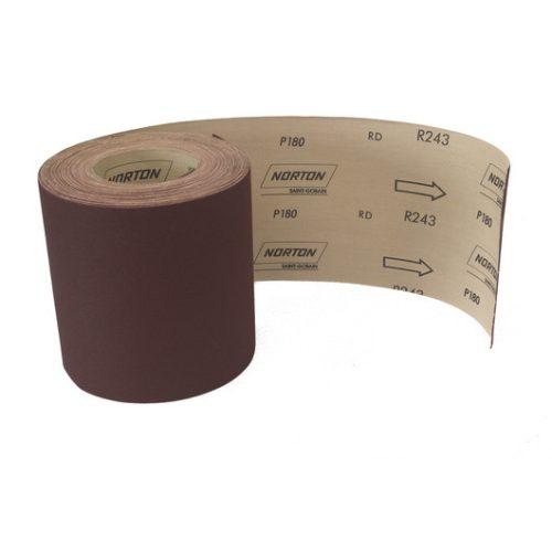 Rola abraziva pe suport panza semi rigida  R243 100 mm x 10 m granulatie 150 (10m/1buc) Norton