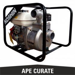 Motopompa ape curate SEH-50X, 2 toli, motor Honda
