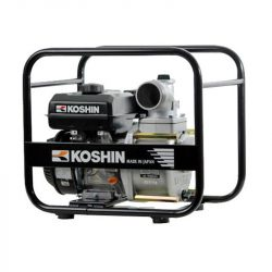 Motopompa ape semimurdare STV-80X, 3 toli, motor Koshin