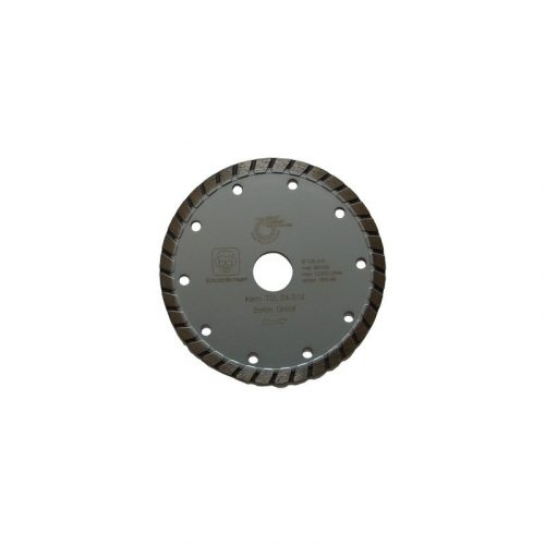 Disc diamantat sinterizat pentru granit, beton, clinker, pietre artificiale dure, materiale similare Ø 125 mm Silverline Turbo TSL