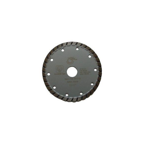 Disc diamantat sinterizat pentru granit, beton, clinker, pietre artificiale dure, materiale similare Ø 125 mm Silverline Turbo TSL